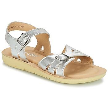 Schoenen Meisjes Sandalen / Open schoenen Start Rite SR SOFT HARPER Zilver