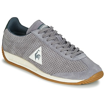 Schoenen Heren Lage sneakers Le Coq Sportif QUARTZ PERFORATED NUBUCK Grijs
