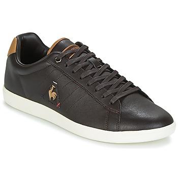 Schoenen Heren Lage sneakers Le Coq Sportif COURTCRAFT S LEA Zwart