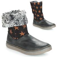 Schoenen Meisjes Hoge laarzen Achile DUBROVNIK Zwart /  cuivré