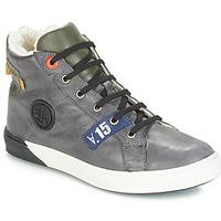 Schoenen Jongens Hoge laarzen GBB SILVIO Nuv / Grijs-groen / Dch / Evoque