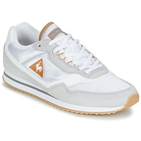 Schoenen Dames Lage sneakers Le Coq Sportif LOUISET SUEDE/NYLON Grijs / Wit