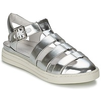 Schoenen Dames Sandalen / Open schoenen Mellow Yellow SACHIC Zilver