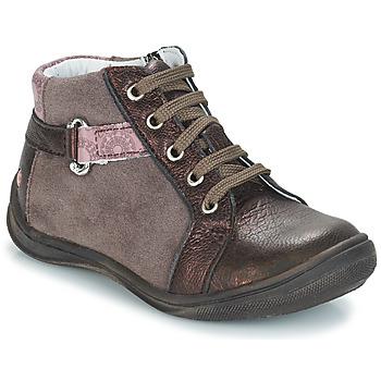 Schoenen Meisjes Laarzen GBB RICHARDINE Brown / Brons