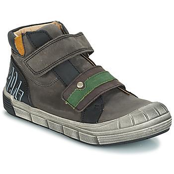 Schoenen Jongens Laarzen GBB REMI Nuv / Grijs-zwart / Dpf / 2831