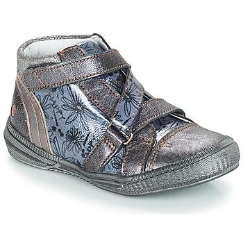 Schoenen Meisjes Laarzen GBB RADEGONDE Grijs / Blauw