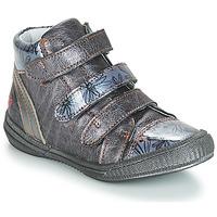 Schoenen Meisjes Laarzen GBB RAFAELE Blauw / Grijs