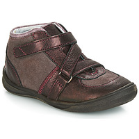 Schoenen Meisjes Laarzen GBB RIQUETTE Brown / Brons