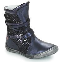Schoenen Meisjes Hoge laarzen GBB ROSANA Blauw