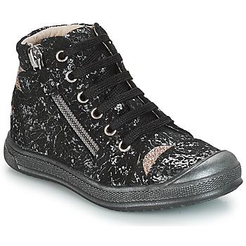 Schoenen Meisjes Hoge sneakers GBB DESTINY Zwart