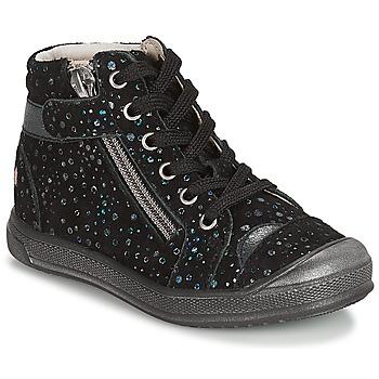 Schoenen Meisjes Lage sneakers GBB DESTINY Vte / Zwart / Confetti / Dpf / Edit