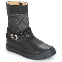 Schoenen Meisjes Hoge laarzen GBB ROLANDE Zwart