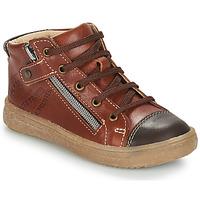 Schoenen Jongens Laarzen GBB NICO Brown