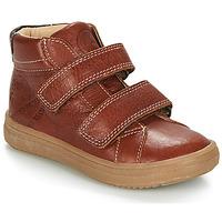 Schoenen Jongens Laarzen GBB NAZAIRE Brown