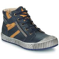 Schoenen Jongens Laarzen Catimini RAMBOUTAN Blauw