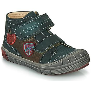 Schoenen Jongens Hoge sneakers Catimini ROMARIN Blauw / Brown
