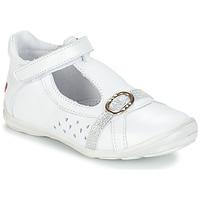 Schoenen Meisjes Sandalen / Open schoenen GBB SALOME Vte / Wit / Dpf / Festa