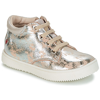 Schoenen Meisjes Lage sneakers GBB SACHA Beige / Zilver
