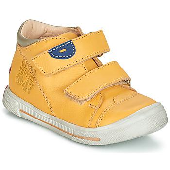 Schoenen Jongens Laarzen GBB SAMY Vte / Geel / Dpf / Sneeuw