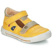 Schoenen Jongens Sandalen / Open schoenen GBB STEVE Vte / Geel / Dpf / Sneeuw