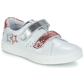 Schoenen Meisjes Hoge laarzen GBB SANDRA Vte / Nacre-rose / Dpf / Dolby