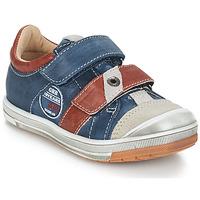 Schoenen Jongens Laarzen GBB SERGE Blauw / Grijs / Rood