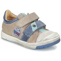 Schoenen Jongens Laarzen GBB SERGE Grijs / Blauw