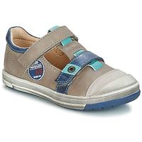 Schoenen Jongens Laarzen GBB SCOTT Grijs / Blauw