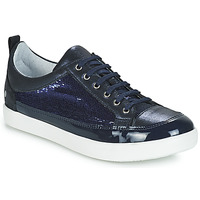 Schoenen Meisjes Hoge laarzen GBB ISIDORA Blauw / Marine