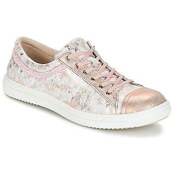 Schoenen Meisjes Laarzen GBB GINA Vte / Roze-grijs / Dpf / 2835