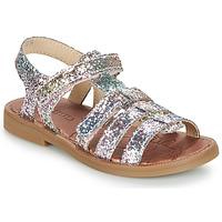 Schoenen Meisjes Sandalen / Open schoenen GBB KATAGAMI Tts / Roze / Multikleuren / Dpf / 2794