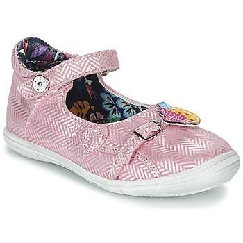 Schoenen Meisjes Sandalen / Open schoenen Catimini SITELLE Vte / Rose-argent / Dpf / 2851