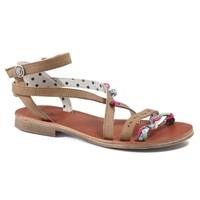 Schoenen Meisjes Sandalen / Open schoenen Catimini SAPHIR Vte / Bruin-turquoise / Dpf / Coca