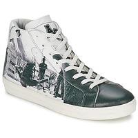 Schoenen Heren Hoge sneakers American College BREAKDANCE Zwart / Wit