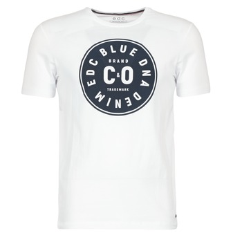 Textiel Heren T-shirts korte mouwen Esprit GRAHAM Wit