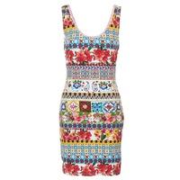 Textiel Dames Korte jurken Desigual OCONDE Multikleuren