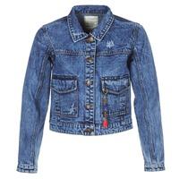 Textiel Dames Spijker jassen Kaporal BUCHE Blauw
