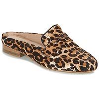Schoenen Dames Leren slippers Maruti BELIZ Brown / Zwart