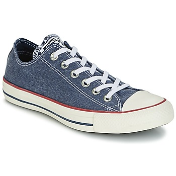 Schoenen Lage sneakers Converse Chuck Taylor All Star Ox Stone Wash Marine