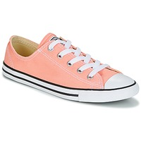 Schoenen Dames Lage sneakers Converse Chuck Taylor All Star Dainty Ox Canvas Color Roze
