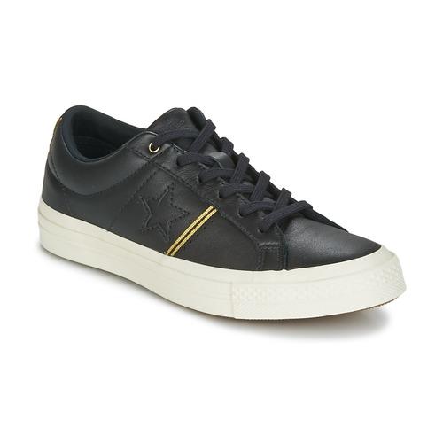 Schoenen Lage sneakers Converse One Star Zwart