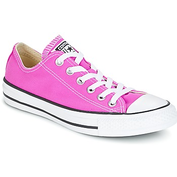 Schoenen Dames Lage sneakers Converse Chuck Taylor All Star Ox Seasonal Colors Roze