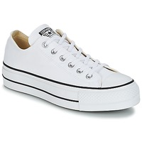Schoenen Dames Lage sneakers Converse Chuck Taylor All Star Lift Clean Ox Core Canvas Wit
