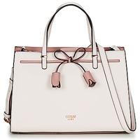 Tassen Dames Handtassen kort hengsel Guess LEILA GIRLFRIEND STACHEL Roze