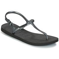Schoenen Dames Sandalen / Open schoenen Havaianas FREEDOM SL Zwart