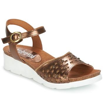 Schoenen Dames Sandalen / Open schoenen Felmini BRONZINO Brons