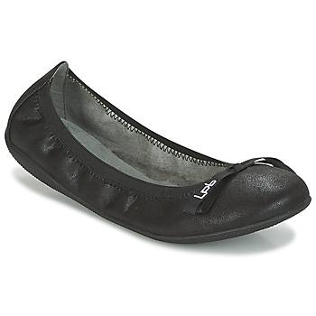 Schoenen Dames Ballerina's LPB Shoes ELLA VELOUR Zwart