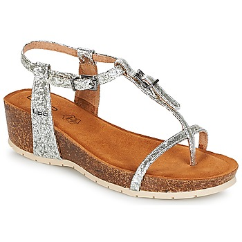 Schoenen Dames Sandalen / Open schoenen Les Petites Bombes KISS Zilver