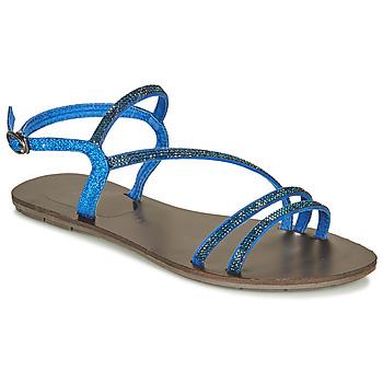 Schoenen Dames Sandalen / Open schoenen Les Petites Bombes NELLY Blauw