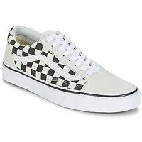 Schoenen Lage sneakers Vans OLD SKOOL Wit / Zwart